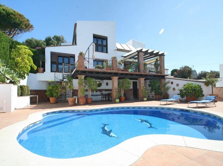 Detached Villa For Sale Casares Costa